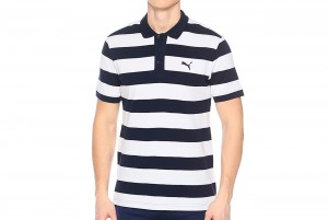 Polo ESS Striped Pique Polo