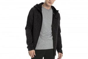 Bluza Evostripe FZ Hoody Cotton Black