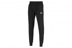 Spodnie ESS Logo Pants TR cl Puma Black-Cat