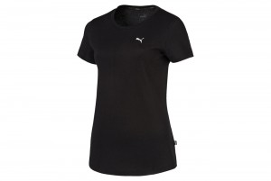 KOSZULKA ESS Tee Cotton Black-Cat
