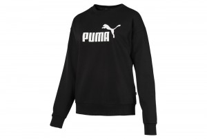 Bluza ESS Logo Crew Sweat TR Cotton Black