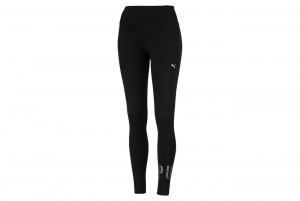 Leginsy ATHLETIC Logo Leggings Cotton Black-Meta