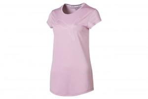 Koszulka Active Logo Heather Tee Pale Pink Heathe