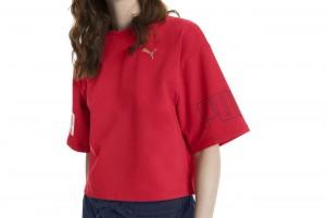 Koszulka MODERN SPORT Sweat Tee Ribbon Red