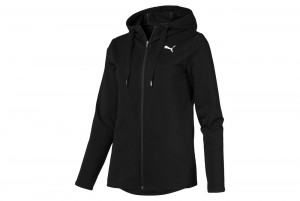 Bluza MODERN SPORT FZ Logo Hoody Cotton Black