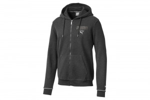 Bluza Athletics FZ Hoody FL Dark Gray Heather