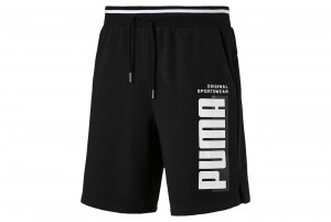 "Szorty ""Athletics Shorts 8"""" TR Cotton Black"""