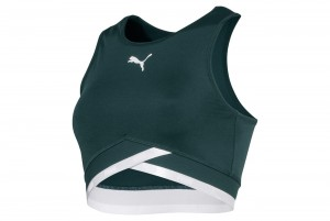 Stanik Soft Sports Crop Top Ponderosa Pine