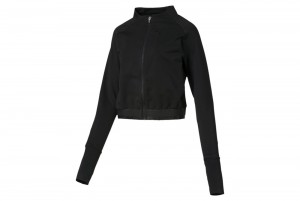 Bluza Soft Sports Jacket Puma Black