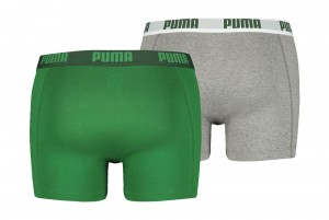 Bokserki Puma Basic Boxer 2P amazon green