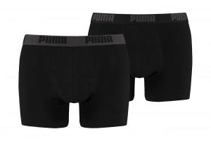 Bokserki Puma Basic Boxer 2P black black