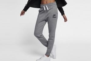 Spodnie W NSW PANT REG HW AIR