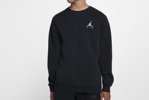 Bluzka M J JUMPMAN FLEECE CREW