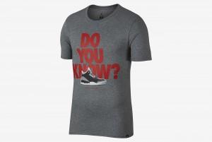 Koszulka M JSW TEE AJ3 DO YOU KNOW
