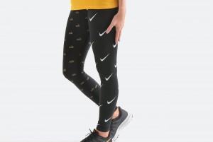 Spodnie W NSW LGGNG METALLIC