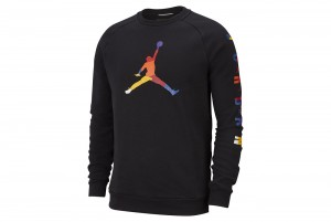 Bluzka M J SPRT DNA HBR FLEECE CREW