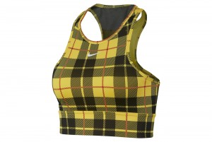 Stanik NIKE EVERYTHING PLAID BRA