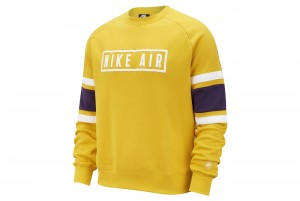 Bluzka M NSW NIKE AIR CREW FLC