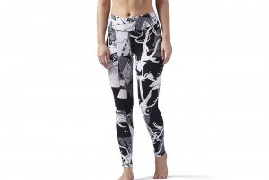 SPODNIE EL LEGGING-ABSTRACT BLOSS