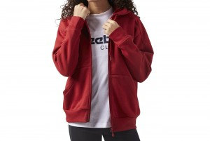 BLUZA F Fleece FZ Hoody