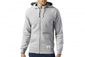 BLUZA EL QUILTED FULL ZIP
