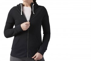 BLUZA Z DL. REKAWEM EL FT FULL ZIP