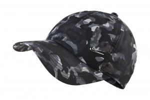 Czapka Y NK H86 CAP METAL SWOOSH CAMO