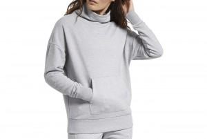 BLUZA Z DL. REKAWEM TE Textured Warm Coverup