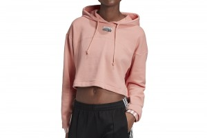 BLUZA CROPPED HOODIE
