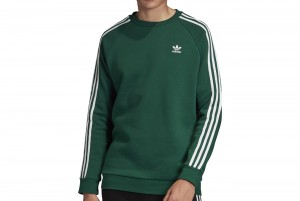 BLUZA Z DL. REKAWEM 3-STRIPES CREW