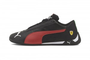 Buty Ferrari SF R-cat Puma Black-Rosso Corsa