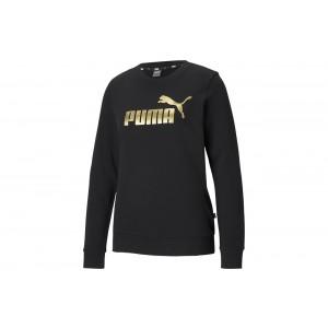 Bluza ESS+ Metallic Logo Crew TR Puma