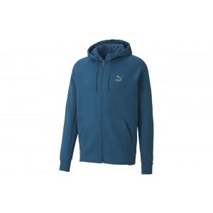 bluza Classics Tech FZ HoodieDigi-blue