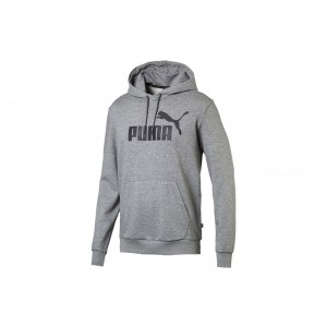 bluza ESS Hoody TR Big Logo Medium Gray Heathe