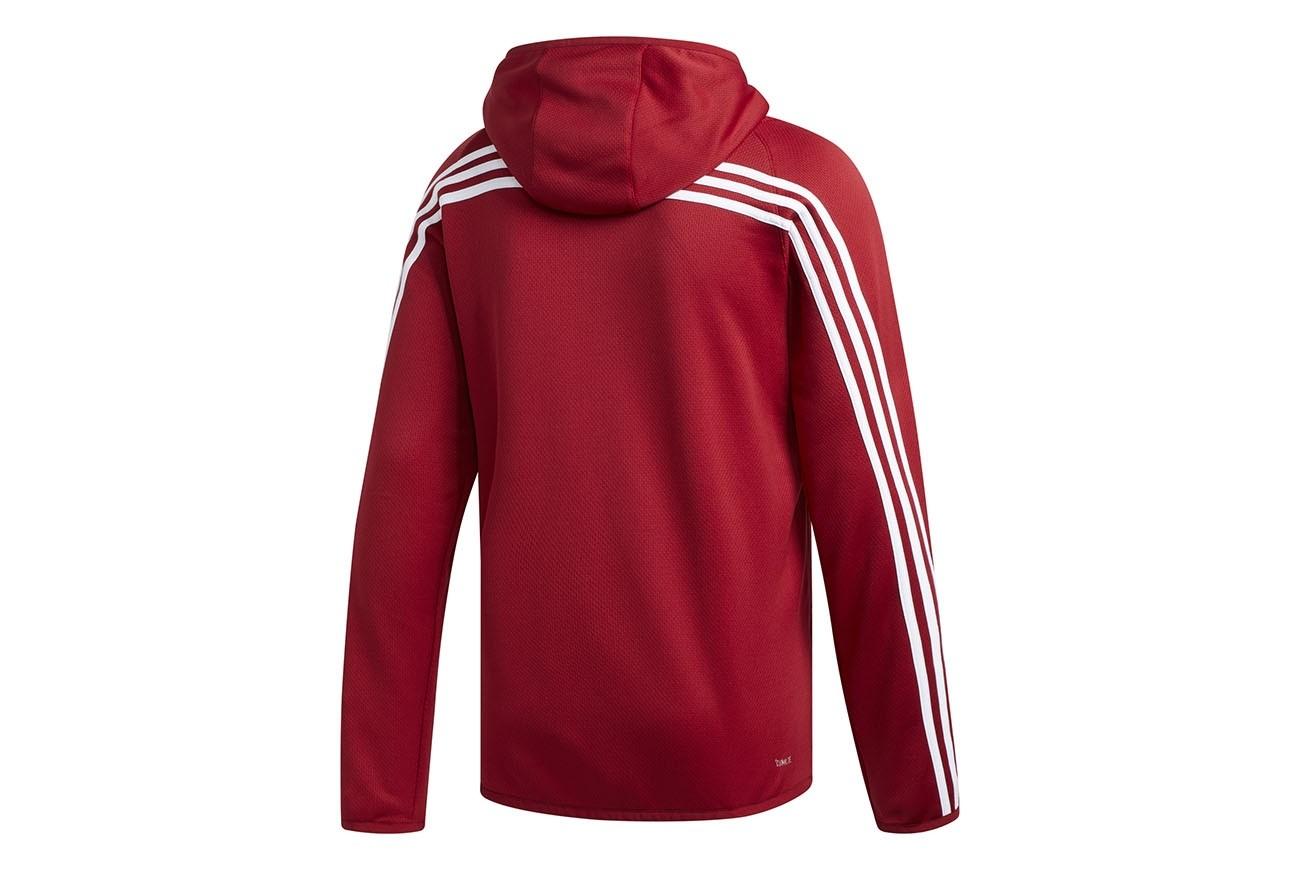 ADIDAS BLUZA ESS LIN PO FT (S98775) Męskie   cena 129,99 PLN, kolor SZARY   Bluzy adidas
